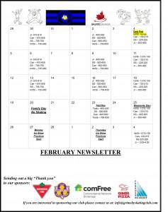 GSC February Newsletter 2017-2